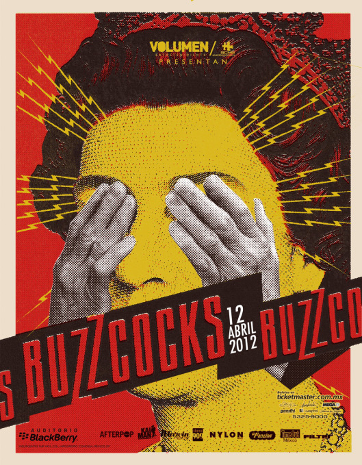flyer Buzzcocks